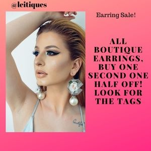 Boutique Earring Sale!